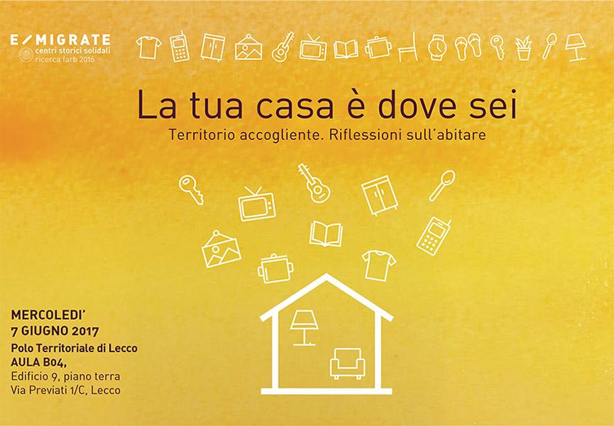 Seminario la tua casa dove sei progetto itaca onlus for Come costruire la tua casa
