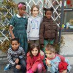 Multietnicità tra bambini.