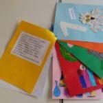 Libro realizzato dai bambini per imparare i numeri.