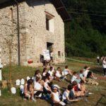 Presentazione della chiesa di Sant'Egidio ad opera dei bambini della scuola di Bonacina.