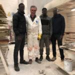 Emilio Guerini, Oumar, Omar e Issa